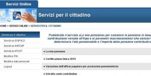 inps servizi per il cittadino