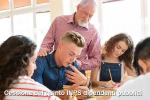 Cessione del quinto INPS dipendenti pubblici