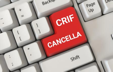 Cancellazione Crif